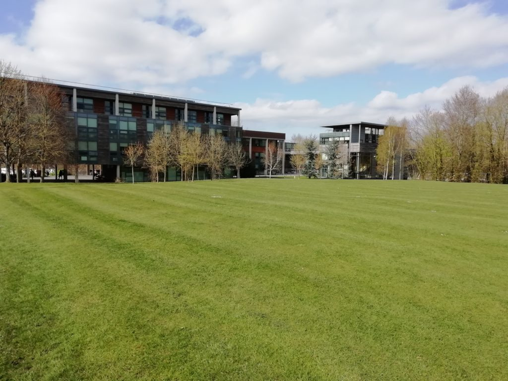 UL Millstream building in the sun 2019-03-26