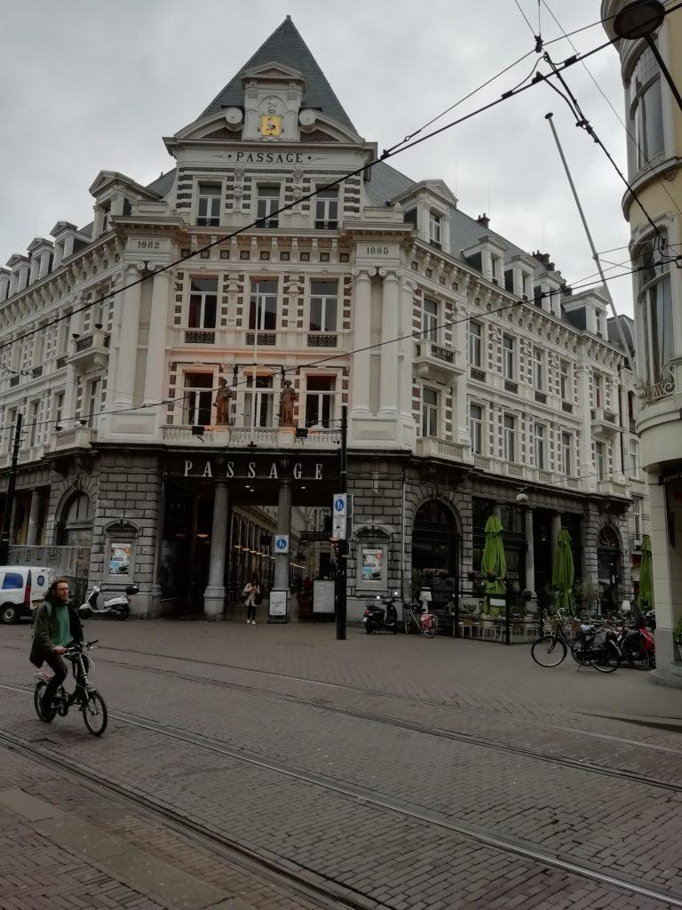 Den Haag, Netherlands. Passage Entrance