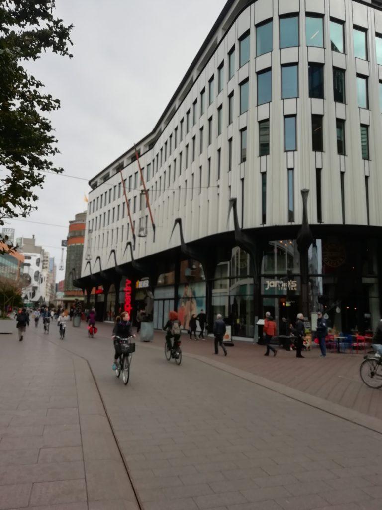 Den Haag, Netherlands. Main Street