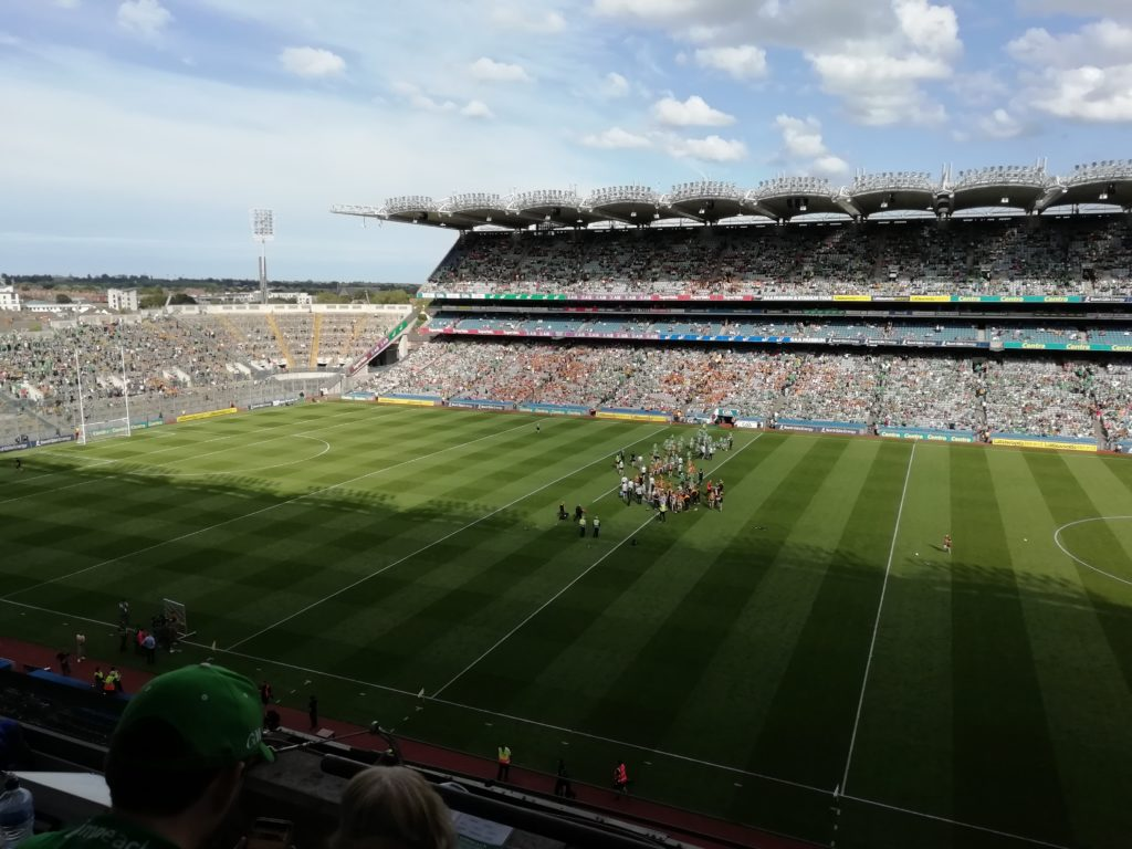 View of Croke Park Stadium from Upper Hogan Stand. Limerick v Kilkenny, All-Ireland Senior Hurling Championship Semi-Final, Saturday July 27 2019